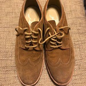 JOHN A. FRYE Wingtip Suede Shoes